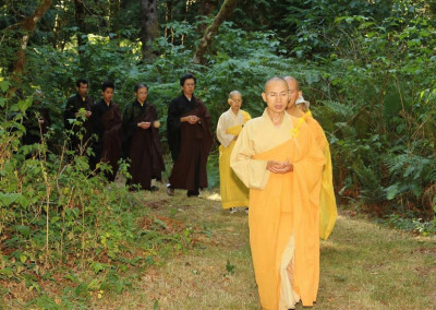 Amitabha Recitation Session of 2015 ~ Walking  Recitation through the Arhat Path