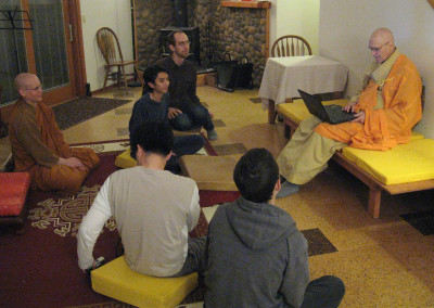 Dharma Talk time with Dharma Master Heng Lai -2011