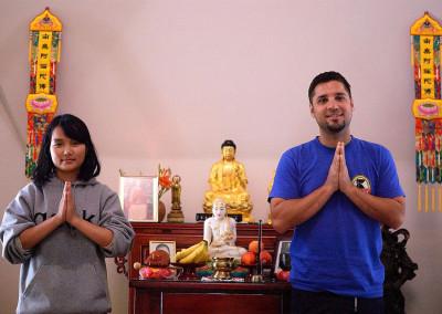 Qin Ping and Juan Morales, 2012
