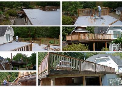 Deck renovation - 2015