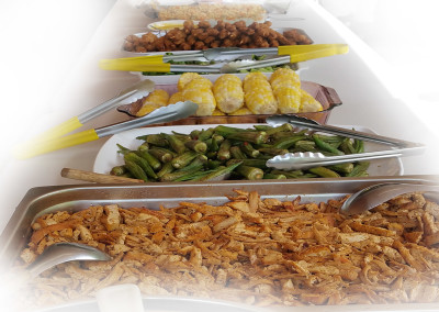 Okra -aka ladies' fingers- to light up main dishes