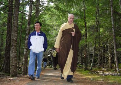 Chin Hoa along side Dharma Master Heng Lai