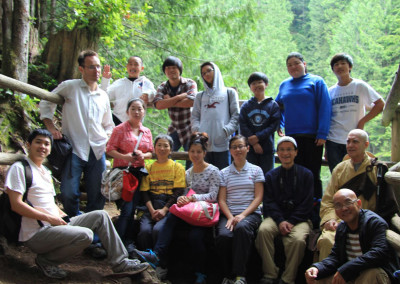 Group picture at Wallace Falls summer of 2012