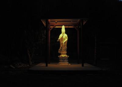 Highlight on Gwan Shr Yin Bodhisattva through the night