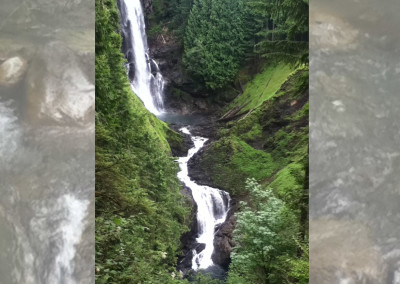 Wallace Falls in focus