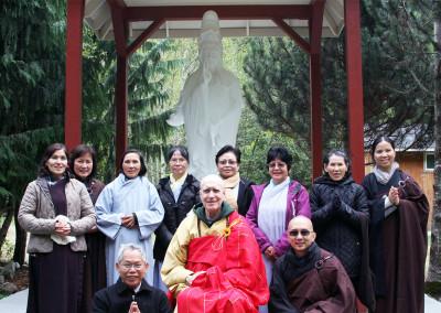 Dharma Master Heng Lai and Vietnamese Disciples