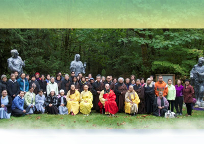 Earth Store Bodhisattva Recitation Session, Three Days Weekend of September, 2015 - Coming Together